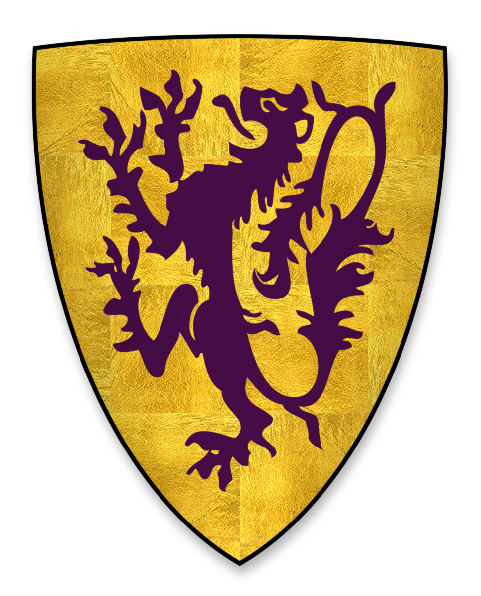 Coat of Arms of John de Lacy